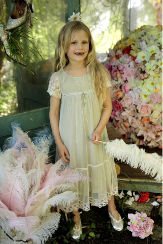 Wood Nymph Flowergirl Dress UK and Ireland