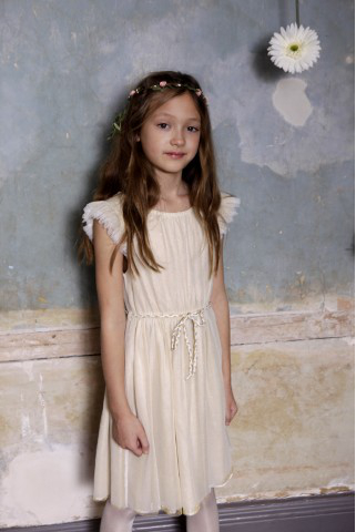 Golden Glacier Cream Dress UK and Ireland
